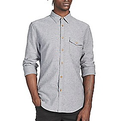Burton - Grey texture shirt