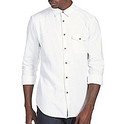 Burton - White texture shirt