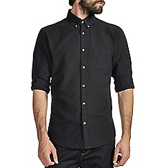 Burton - Black oxford shirt