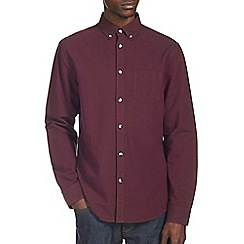 Burton - Burgundy oxford shirt