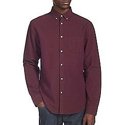 Burton - Burgundy oxford shirt