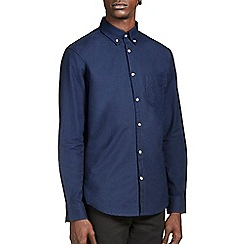 Burton - Navy oxford shirt