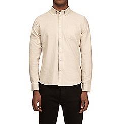 Burton - Stone long sleeve button down collar oxford shirt