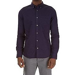Burton - Purple long sleeve oxford shirt