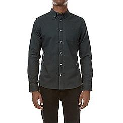 Burton - Green long sleeve oxford shirt