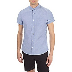 Burton - Light blue short sleeve oxford shirt