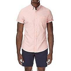 Burton - Orange short sleeve oxford shirt