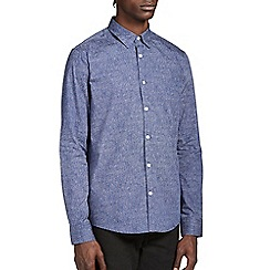 Burton - Blue print smart shirt