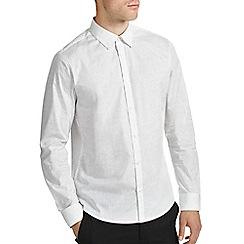 Burton - White print smart shirt