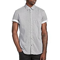 Burton - Black geo print shirt
