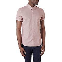 Burton - Short sleeve red printed shirt