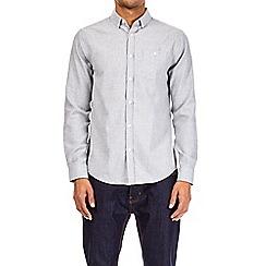 Burton - Brushed grey long sleeve shirt