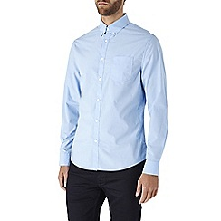 Burton - Long sleeve light blue poplin shirt