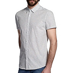 Burton - White dot print shirt