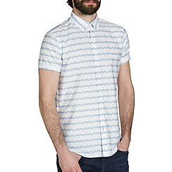 Burton - Blue wave stripe shirt