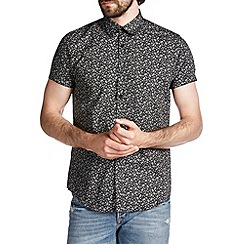 Burton - Black floral print shirt