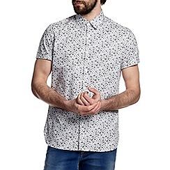 Burton - White floral print shirt