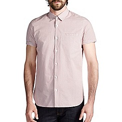 Burton - Red all over print shirt