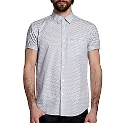 Burton - White leaf print shirt