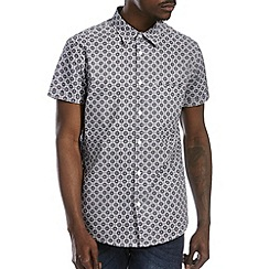 Burton - Navy all over print shirt