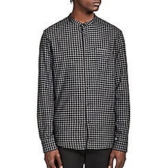 Burton - Black and grey check shirt