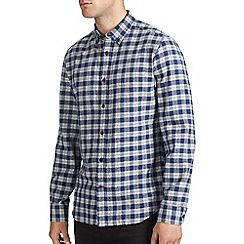Burton - Blue checked shirt