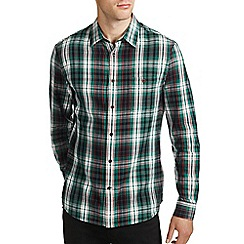 Burton - Green check shirt