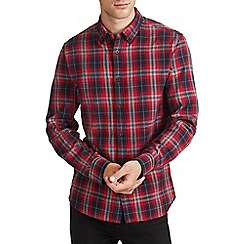 Burton - Red check shirt