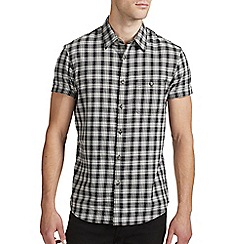 Burton - Black check shirt