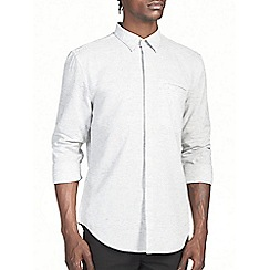 Burton - Grey texture shirt