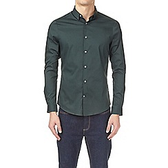 Burton - Emerald stretch skinny fit long sleeve shirt