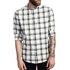 Burton - Black & white check shirt