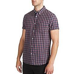 Burton - Blue tartan check shirt