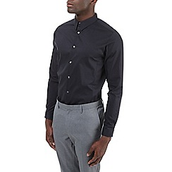 Burton - Long sleeve black stretch slim fit shirt