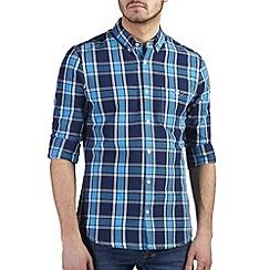 Burton - Blue check shirt