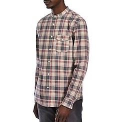 Burton - Pink & beige check shirt