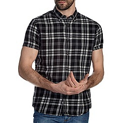 Burton - Black & white check shirt