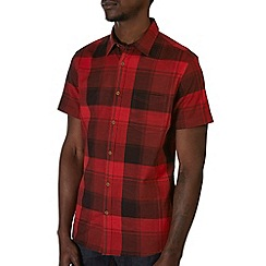 Burton - Red check shirt
