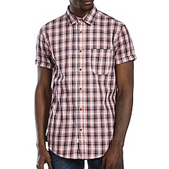 Burton - Pink & white check shirt