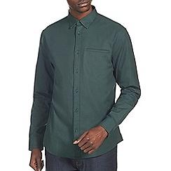 Burton - Green smart twill shirt