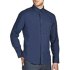Burton - Navy smart twill shirt