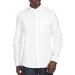 Burton - White smart twill shirt