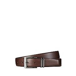 Burton - Brown double keeper belt