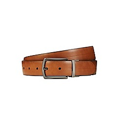 Burton - Brown line embossed belt