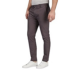 Burton - Charcoal slim fit chinos