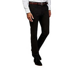 Burton - Black stretch slim chinos
