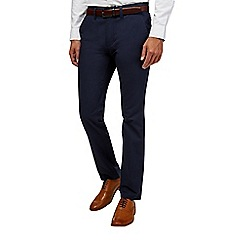 Burton - Navy stretch slim fit chinos