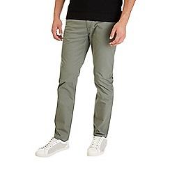 Burton - Light khaki stretch slim fit chinos