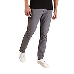 Burton - Charcoal stretch slim fit chinos