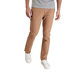 Burton - Tobacco stretch slim fit chinos